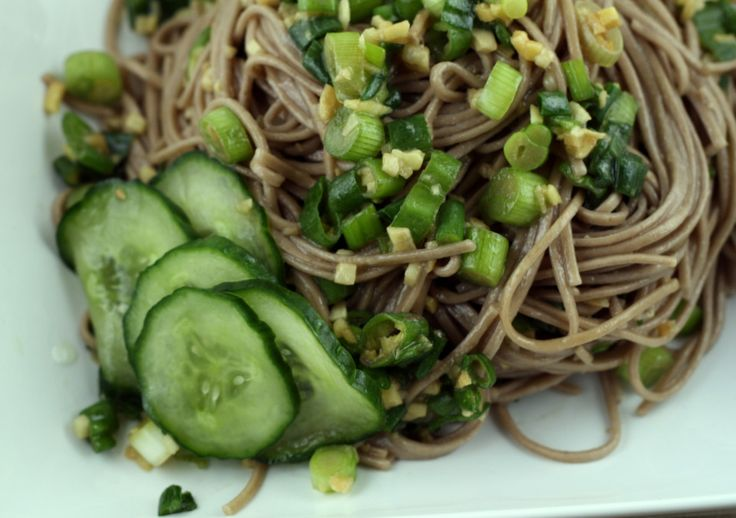 "Soba Noodles With Wakame + Spicy Kohlrabi Salad, from ""Plenty"" by ..."