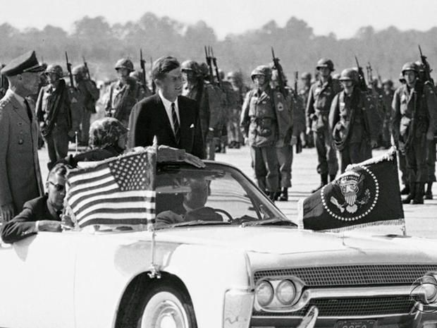 All of the armed services took part in funeral procession, but none felt a greater loyalty to President John F. Kennedy than the Army's Green Berets