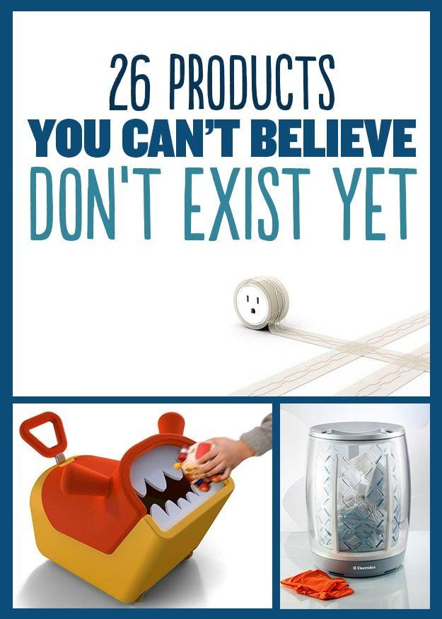 26 Produtos Que Você Não Pode Acreditar Que Ainda Não Existem
