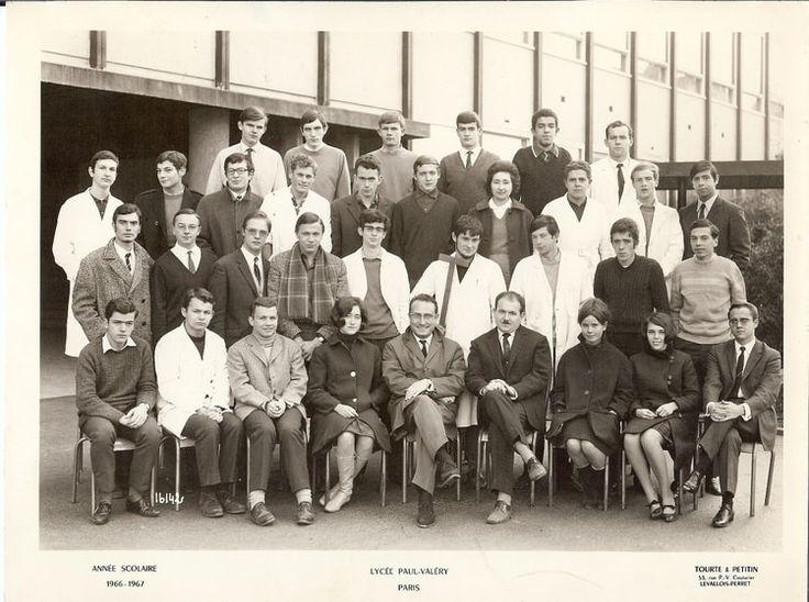 Photo de classe Math Spé de 1966, Lycée Paul Valery - Copains d'avant