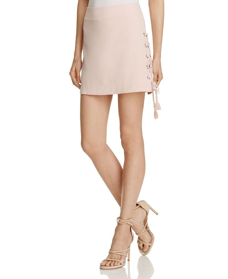 Rebecca Minkoff Dylan Lace-Up Skirt - 100% Exclusive   Bloomingdales's
