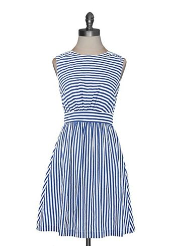 Emily and Fin - Sailor Stripes Dress. this would be so cute with a mustard yellow cardigan!