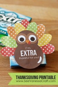 Free I'm Extra Thankful For You Printable #247moms