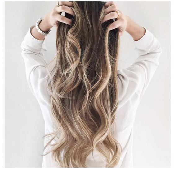 Saçlarınıza sarı balyaj uygulaması yapın