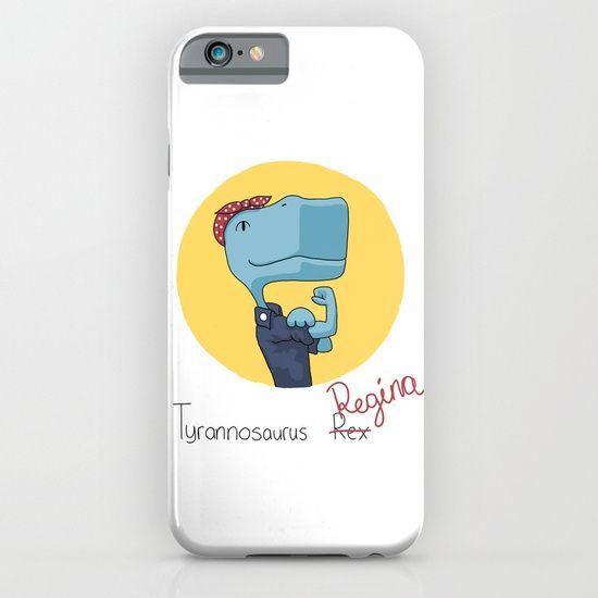 Regina the Riveter iPhone & iPod Case