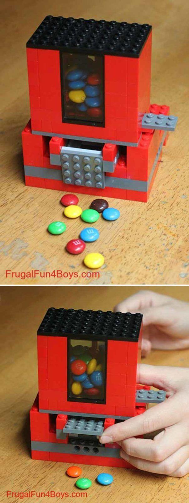 Fun and Easy DIY Lego Crafts for Boys | https://diyprojects.com/21-awesome-diy-lego-ideas/