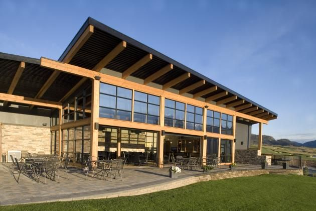 golf clubhouses architecture - Google Search