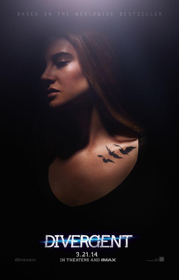 "Tris / Exclusive ""Divergent"" Poster Reveals Dauntless Tattoos (via BuzzFeed)"