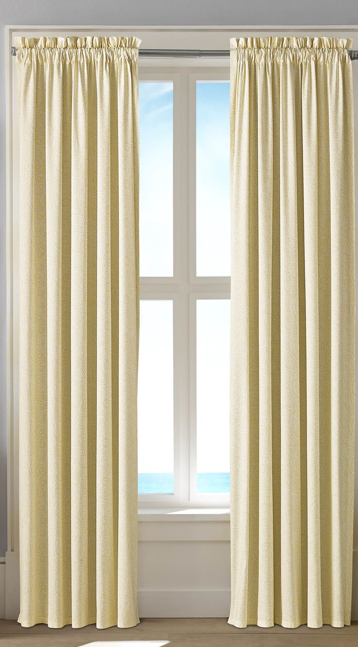 Nautica palmetto bay stripe shower curtain from beddingstyle com - Hester Curtain Panel