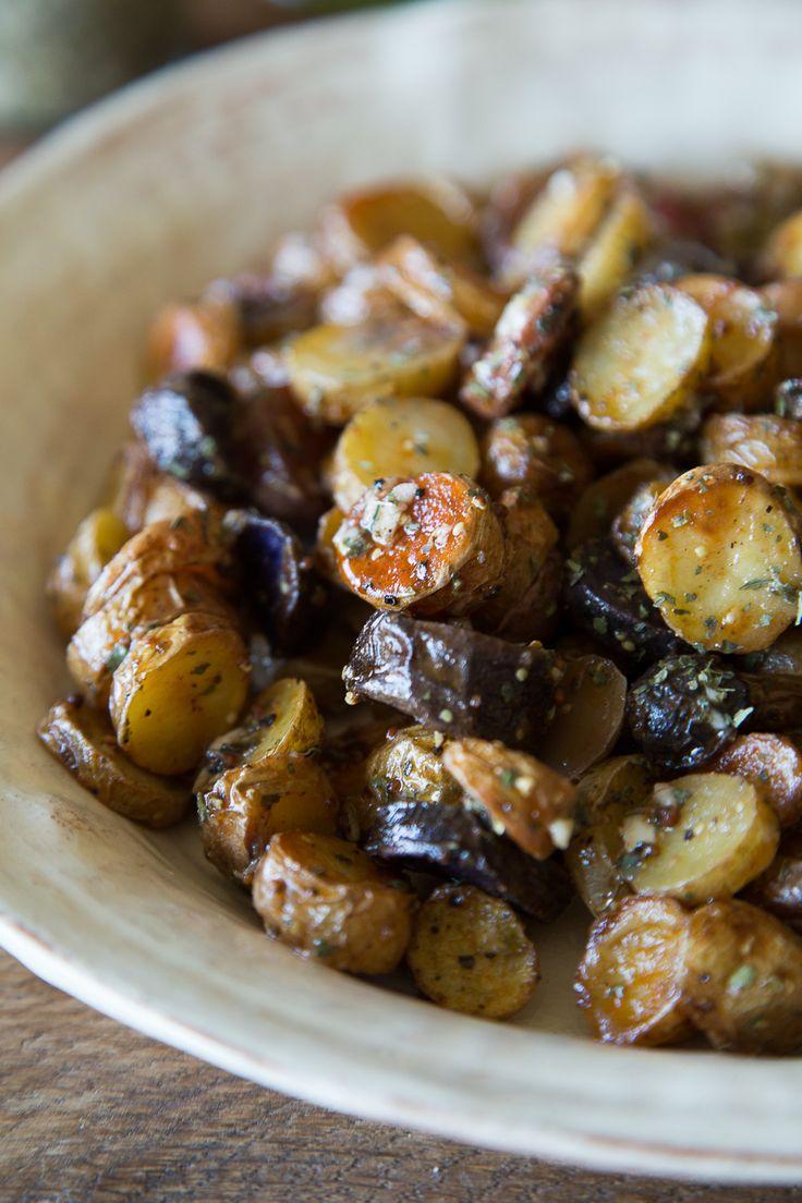 Mustard and Herb Fingerling Potato Salad