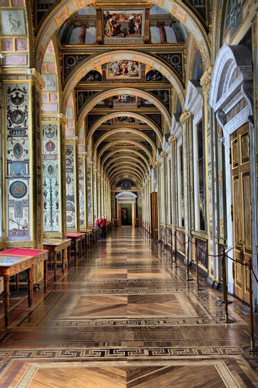 The Hermitage, St Petersburg, Russia.