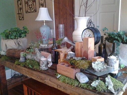 My Pallet Table And Most Of Decor I Hand Made My