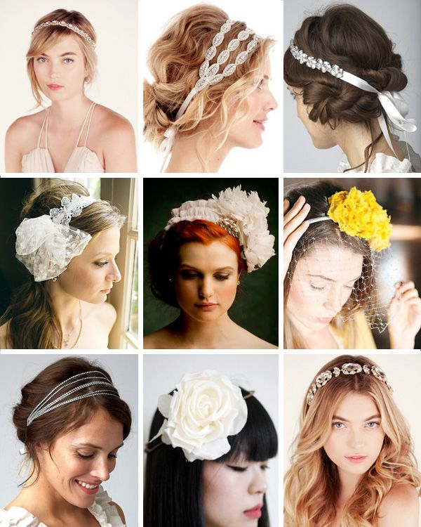 Headbands and hairstyles...sounds like the name of an 80's band! ~#repinned by Lori Cole Events