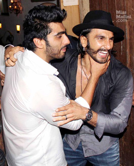 Arjun Kapoor and Ranveer Singh