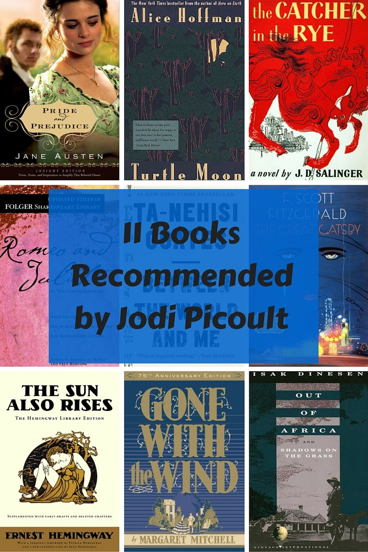 11 Books Recommended by Jodi Picoult. Judging by her vast selection of recommended books, it appears she follows her own advice to read a ton!