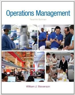 solution manual for Operations Management 12th Edition by William J