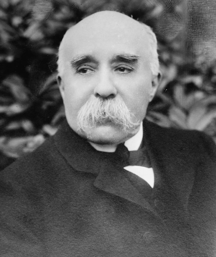 Prime Minister Georges Benjamin Clemenceau led France during WW1 as one of the leaders of the Triple Entente.