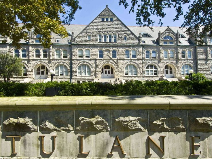 I can't think of a better place than Tulane.