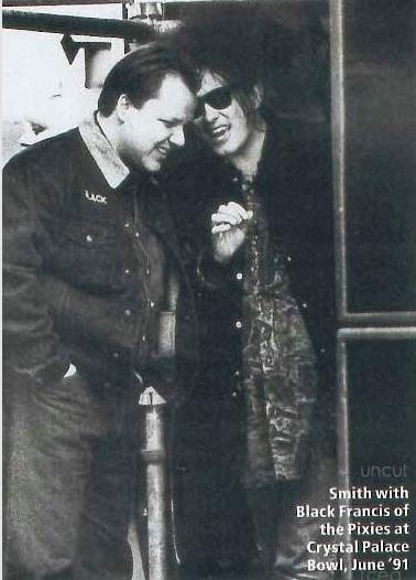 Black Francis of The Pixies and Robert Smith of The Cure---- I wish I had been there..<3