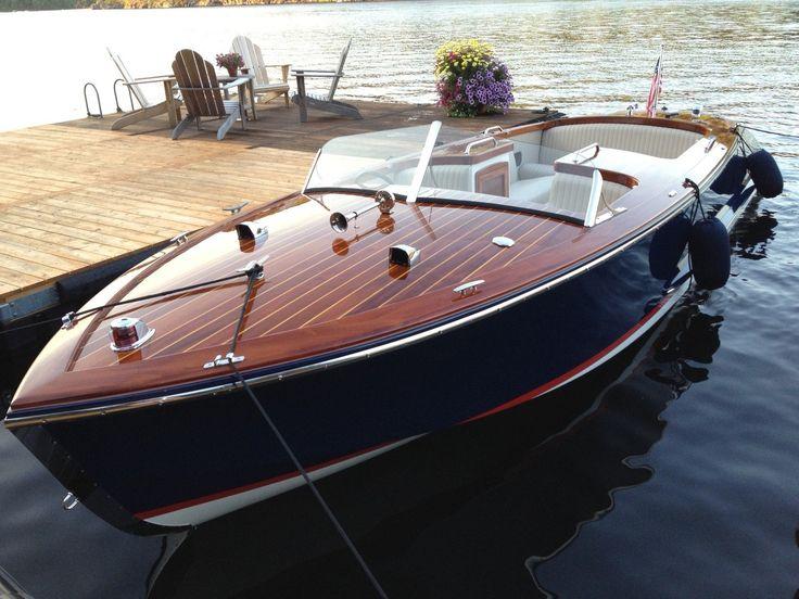 Classic Wooden Boat- Cherubini 24...LLA