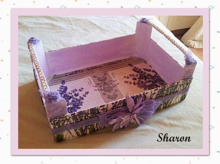 Las manualidades de sharon cajas de fresas cajas de - Manualidades con cajas de frutas ...
