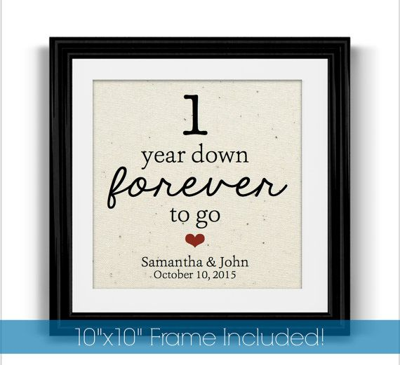 Almost One Year Anniversary Quotes: Best 25+ 1st Anniversary Gifts Ideas On Pinterest