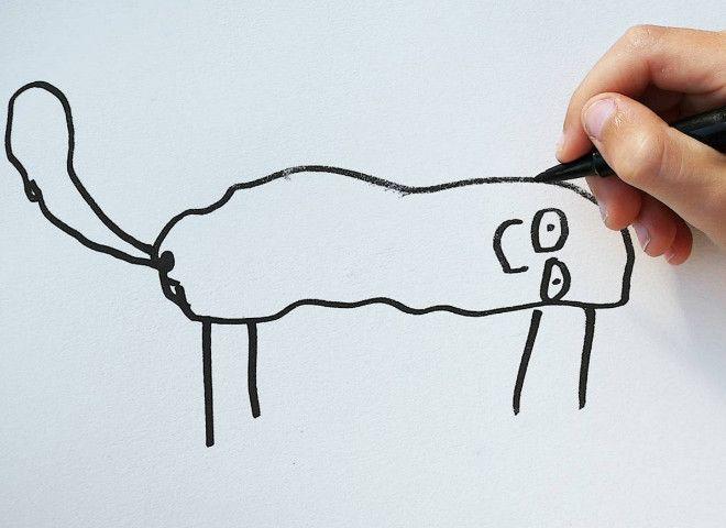 Pai transforma desenhos de filho de 6 anos em animais fantásticos