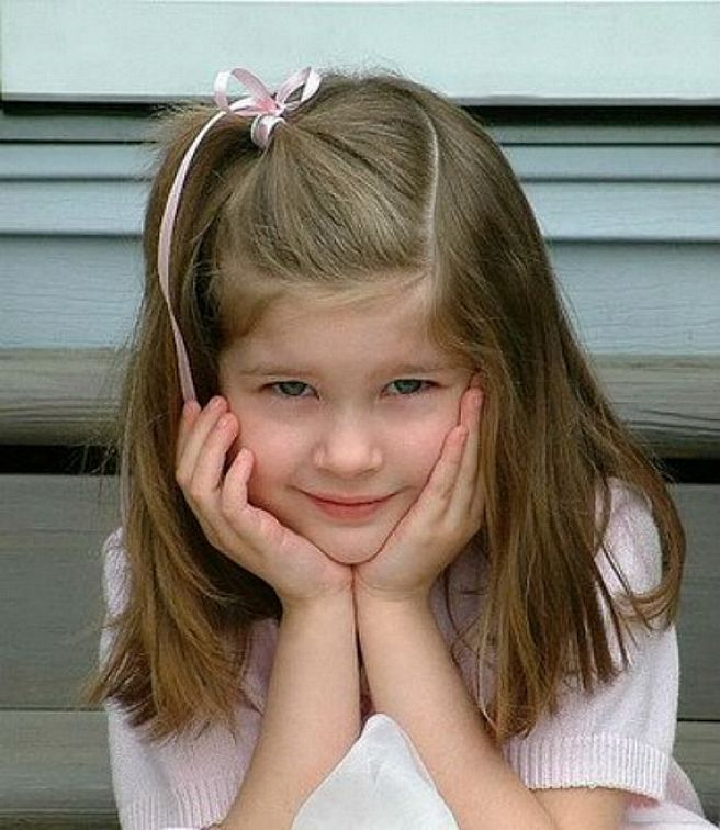 Be Creative with Your Little Girl Hairstyles: Long Straight Hairstyles For Little Girls Hipsterwall ~ frauenfrisur.com Hairstyles Inspiration