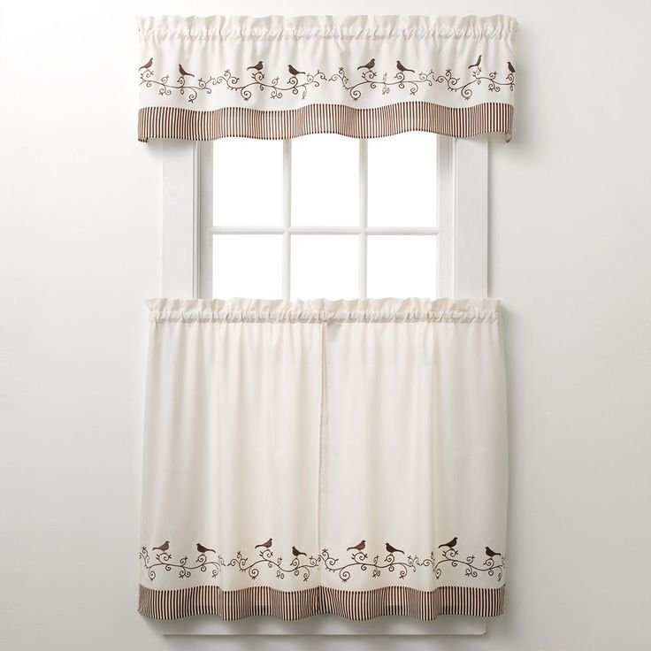 57 best Curtain Ideas images on Pinterest | Curtain ideas, Kitchen ...