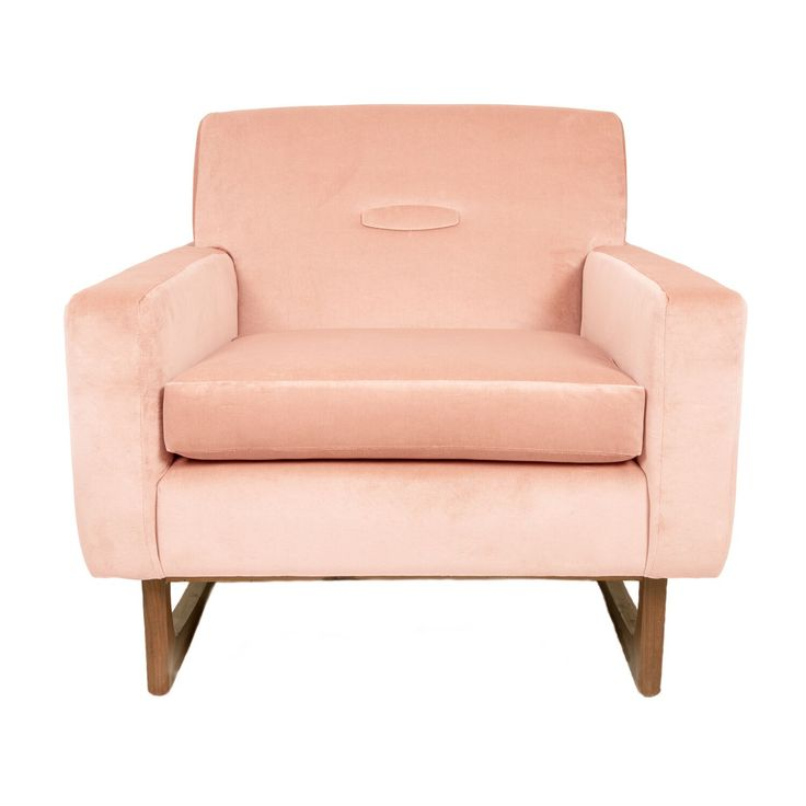 SUper Chic: Pair of Sleigh Base Armchairs #interiors #homedesign #customised #midcentury #poudre #welove