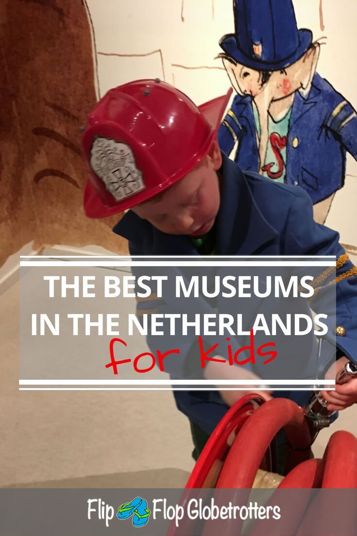 """Lots of information about the 10 best museums for kids in The Netherlands. Holland may be small, but it has a lot to offer for kids, such as these awesome children's museums. Playing with water, dinosaurs or trains, all kids will love the interaction and learning new things. Although older kids will love them too, these museums are all very suitable for toddlers"""" data-pin-custom="""