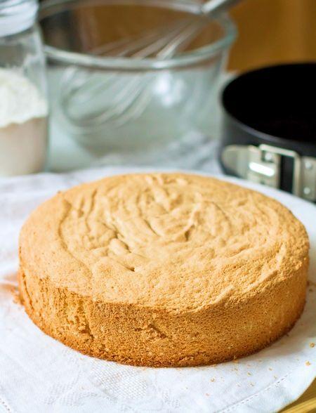 Идеальный бисквит для тортов