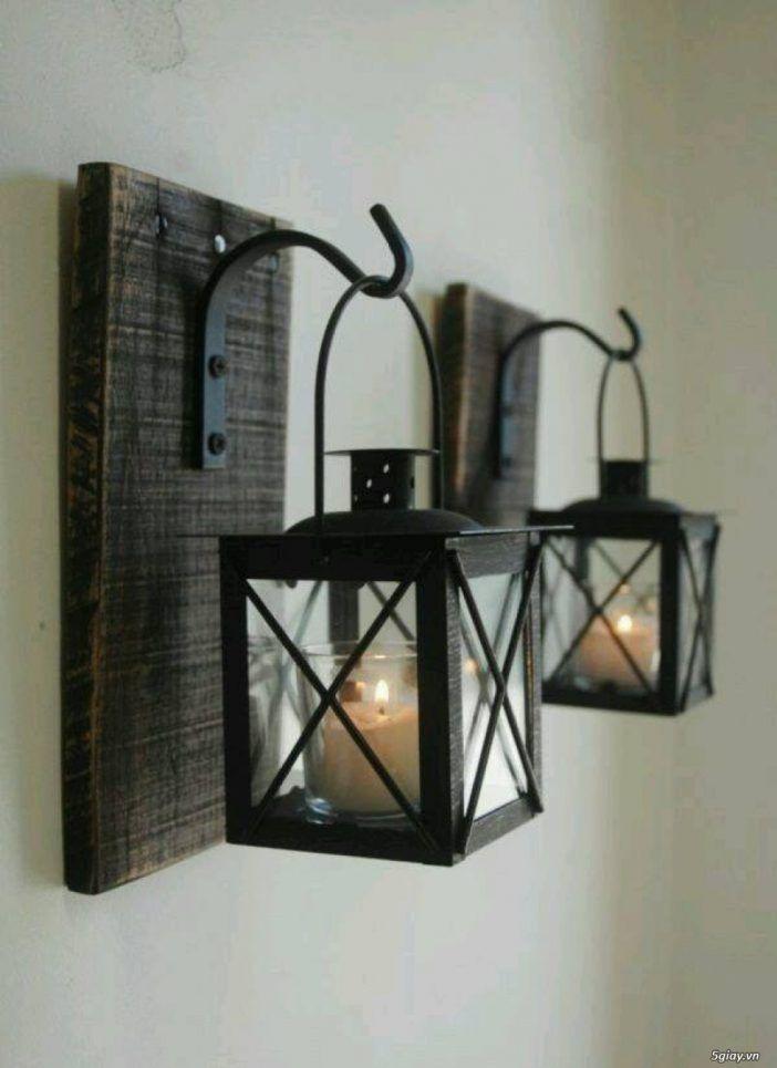 Ein Licht in der Finsternis…….9 rustikale und originelle DIY Lampen- und Kerzenhalter - Seite 2 von 9 - DIY Bastelideen