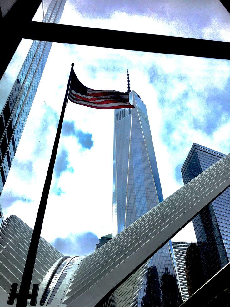 Ground zero 9/11 NYC Manhattan World Trade Center
