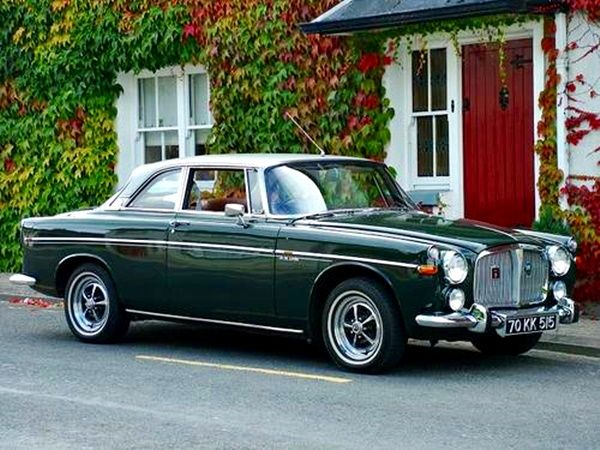Rover P5b Coupe 2 Door 3.5 V8 - 1970 - The only 2 Door ever produced.