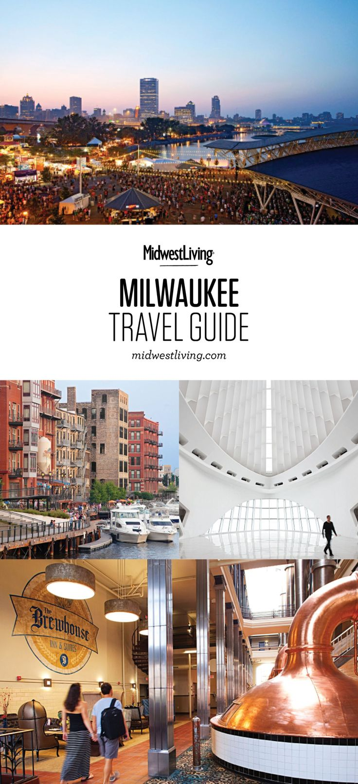 Milwaukee maintains ties to its German heritage while celebrating the present at a motorcycle museum and fantastic festivals along Lake Michigan. Check out our picks for what to do, where to eat and where to stay in Milwaukee.
