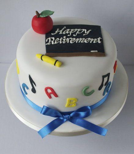 retirement cakes | Teacher Retirement Cake - by SugarRuffles @ CakesDecor.com - cake ...