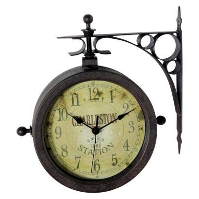 Infinity Traditional Decorative Clock