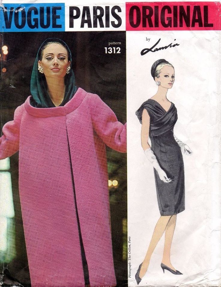 276 besten 1960s Sewing Patterns Bilder auf Pinterest
