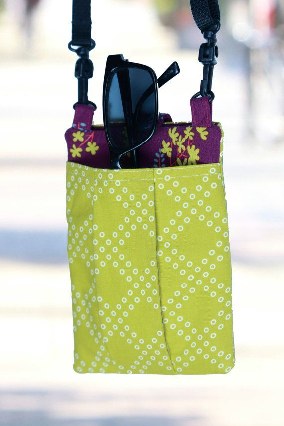 PDF Crossbody Cell Phone Purse Sewing Pattern by CeliaCrafts101