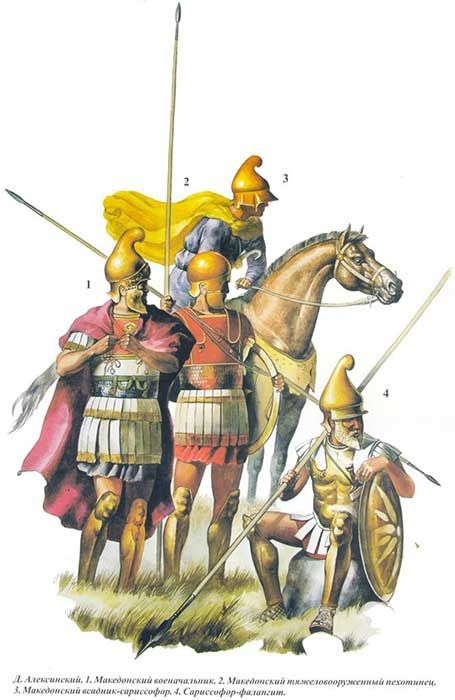 Воини от армията на Александър Македонски/ Alexander the Greats warriors