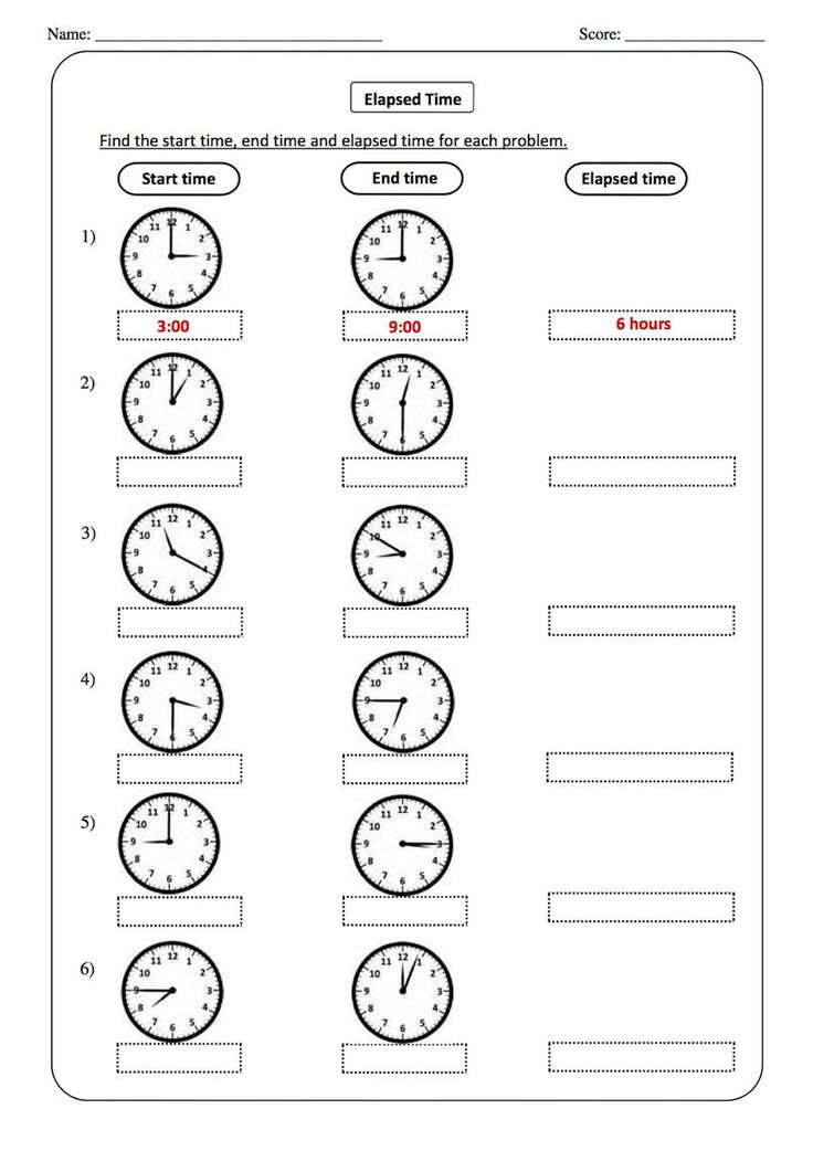 Elapsed Time Worksheets For 2nd Grade | Tata bahasa inggris