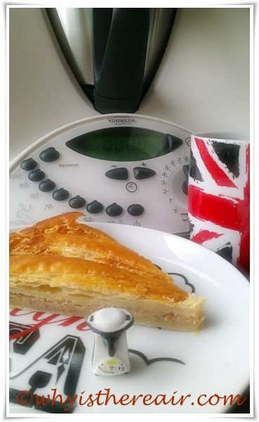 festive #decadent Thermomix Almond Galette #recipe with photo tips from @whyisthereair - More ideas at: http://www.superkitchenmachine.com/2012/17688/thermomix-gift-recipe.html