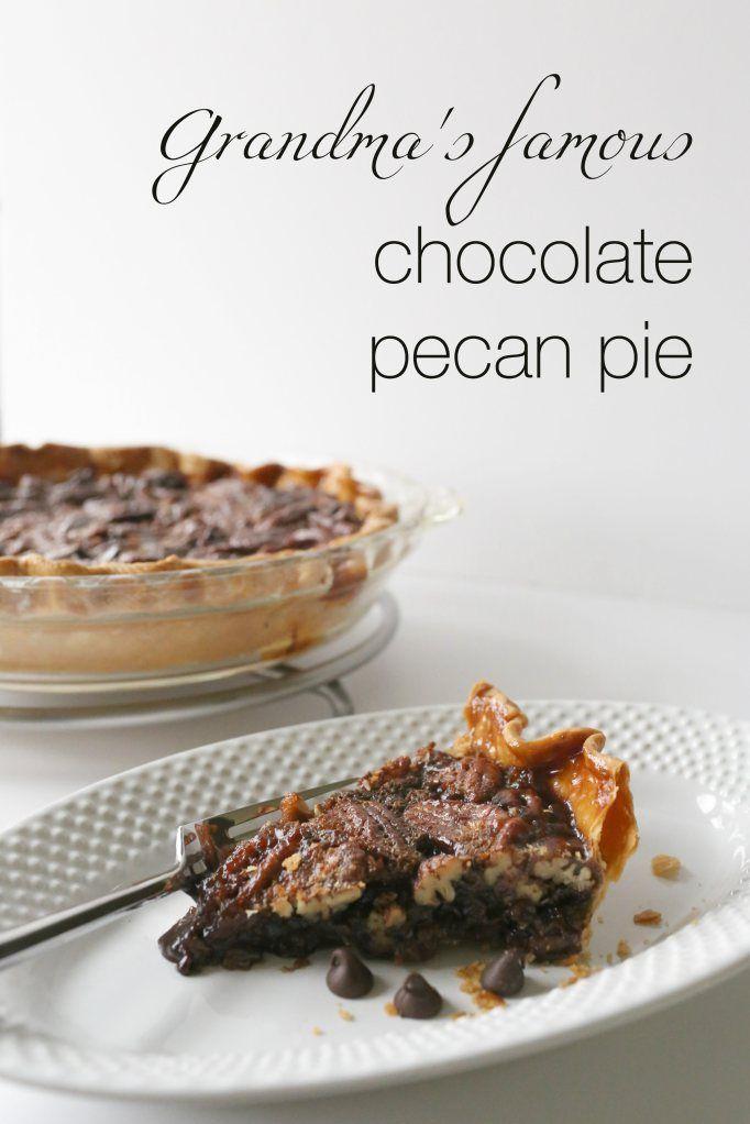 ... Famous Chocolate Pecan Pie. This chocolate pecan pie will