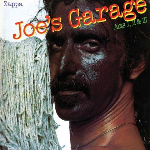 USED COMPACT DISC Released in 1979, Rycodisc CD1: The Central Scrutinizer Joe's Garage Catholic Girls Crew Slut Fembot In A Wet T-Shirt On The Bus Why Does It Hurt When I Pee? Lucille Has Messed My Mi