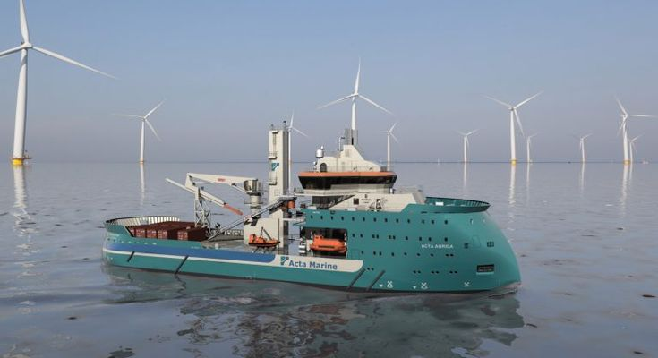 Acta Auriga to Engage In Bard Offshore 1 Works   Offshore Wind