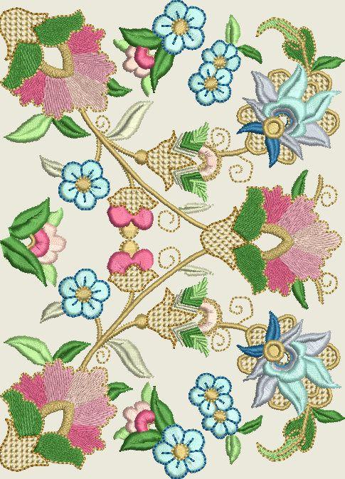 221 best bordado images on pinterest bricolage for Descargar embroidery office design 7 5 full