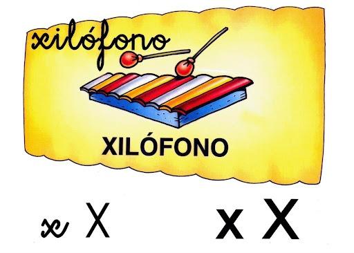 Abecedario: X