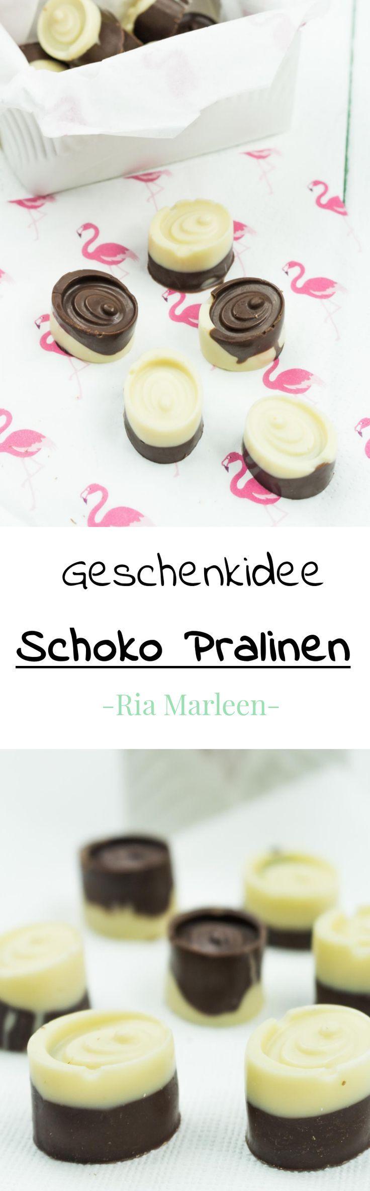 DIY Geschenkidee: Schoko Pralinen selber machen + Verpackung