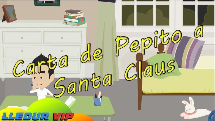 CARTA DE PEPITO A SANTA CLAUS